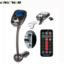 New 5 in 1 LCD Dispaly Bluetooth FM Transmitter car charger USB MP3 bluetooth handsfree car kit speaker for iPhone smarpthones