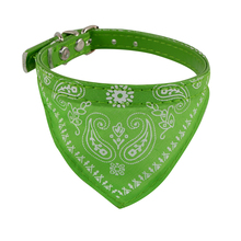 Creative Five Colors Adjustable Pet Dog Puppy Cat Neck Scarf Bandana Collar Neckerchief Happy Gifts High Quality
