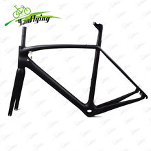China cheap carbon frame road bike toray T800 carbon bicycle frame size in 49,52,54,56,58cm road carbon frame 2017 free shipping(China)