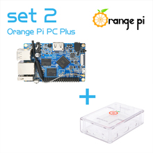 Orange Pi PC Plus SET2 Orange Pi PC Plus+ Transparent ABS Case Supported Android, Ubuntu, Debian Above Raspberry Pi