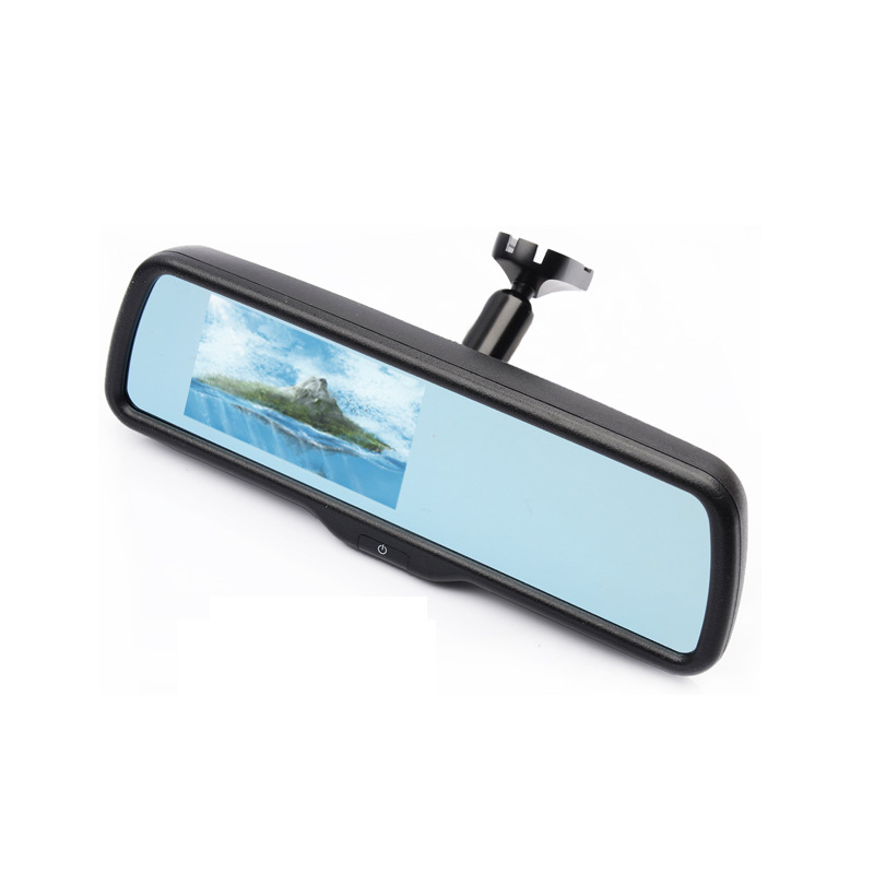 A special 4.3 inch car rearview mirror switch with HD display vehicle parking system,car styling<br><br>Aliexpress