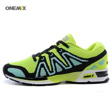 ONEMIX Free Top Quality flywire speed cross Training Running Shoes breathable Sport Men's vigor bounce flexible Sneaker 1035