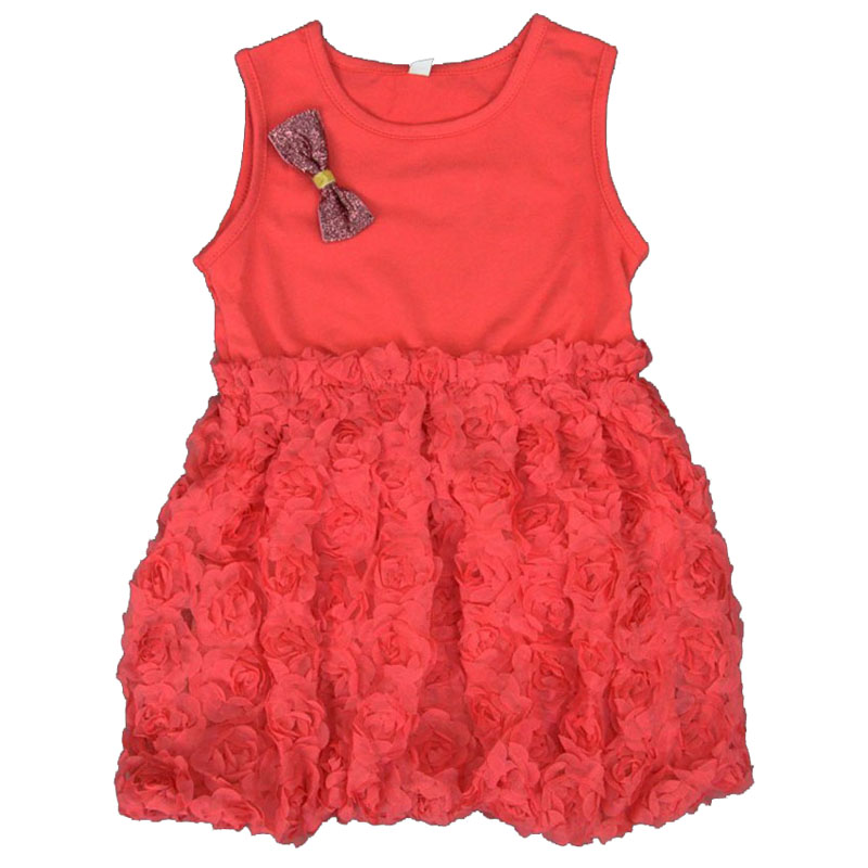 Summer Style Kids Girl Party Dresses 2017 Fashion Flower Lace Design Girl Kids Party Dress Summer Toddler Clothes Dress For Girl<br><br>Aliexpress