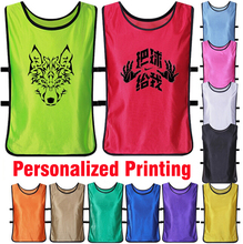 Benwon - Men's Personalized Soccer sleeveless against bib customized football training vests adult sports group against t shirts(China)