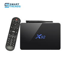 Mecool X92 2GB 16GB 3GB 16/32GB Smart TV Box Android 6.0 Amlogic S912 2.0GHz OctaCore 16.1 5G Wifi 4K Reproductor Multimedia X95