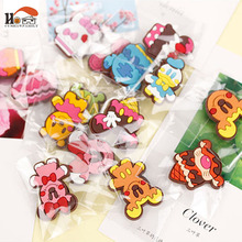 1 pcs silicone Cartoon Animal fridge magnets whiteboard sticker Refrigerator Magnets Kids gifts Home Decoration Free shipping(China)