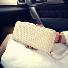 4 Colors Women Wallets Fashion Solid Female Wallet Ladies' Long Design Brand Purse Women Clutch Change Purses Carteira Feminina