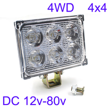 12v/24v/36v/48v/60v/72v Led driving Spot Fog Lamp Car Truck Motorcycle Tractor headlights 4x4 ATV Forklift Crane Led work light