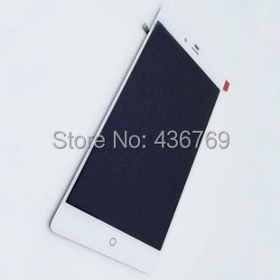 5pcs LCD Display Touch Screen Digitizer Assembly For ZTE Nubia Z9 max Z9MAX NX510J NX512J NX518J Panel Glass Lens black white<br><br>Aliexpress