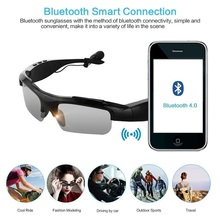 2017 New  Bluetooth V4.1 Headphones Sports Sunglass With Handsfree Answer Phone Music Mp3 Player For Android Ios Smartphones