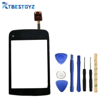RTBESTOYZ Touch Screen For Nokia C2 - 02 Touch Panel Sensor Digitizer Replacement(China)