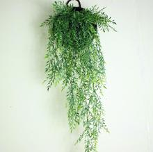 long Nandina atificial rattan hanging wall decor plants and flower(China)