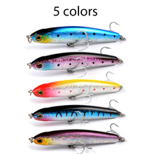 Buy Meredith Lures Fishing 5pcs 12.7g 80mm Slow Sinking Pencil Minnow Hard Artigicial Bait Wobblers Hooks Carp Fishing for $13.11 in AliExpress store