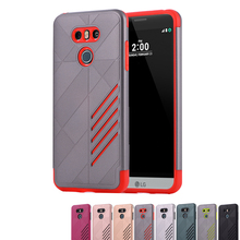 Buy LG G6 Case 5.7 inch Soft Silicon Hard PC Combo Armor Shockproof Cover LG G6 H870 H871 H872 H873 H870K Cases Capa Funda for $4.84 in AliExpress store