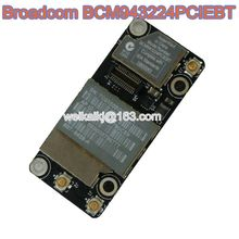 BroadCom BCM943224PCIEBT BCM43224 Wireless WIFI WLAN+BT Bluetooth Card for Apple airport A1278 A1286 A1297 607-6503-A 607-714