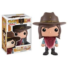 Original FUNKO POP The Walking Dead Carl / The Walking Dead Rosita Vinyl Figure Doll Car Decoration(China)