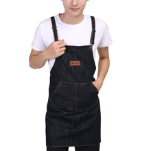 Hotel Chef Working Bib Sleeveless Apron Kitchen Cooking Apron Men Woman Household Cleaning Accessories