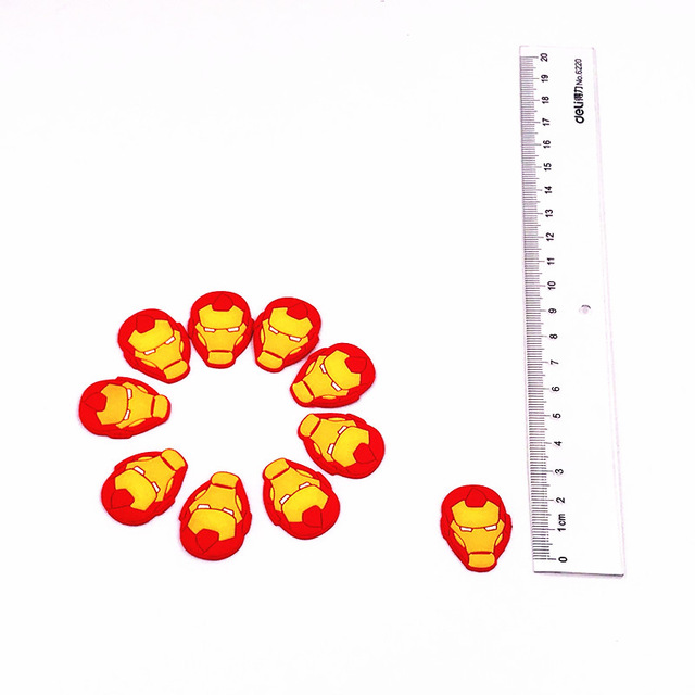 10PCS-Lovely-Cartoon-Avenger-Spiderman-Batman-Captain-America-PVC-Flatback-DIY-PVC-Shoe-Charms-DIY-Gadgets.jpg_640x640 (3)