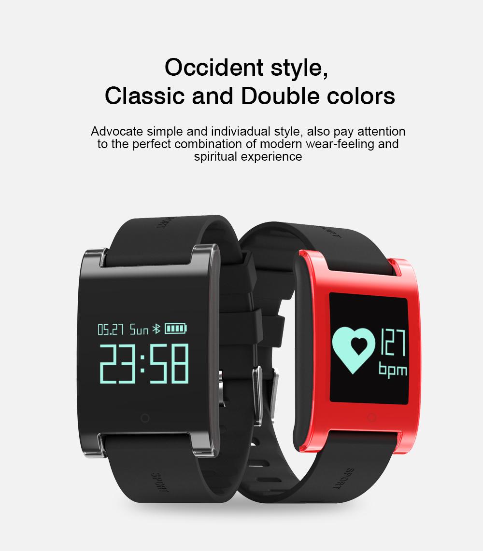 FREZEN Smart Bracelet DM68 Smart Band Fitness Sleep Activity Tracker Blood Pressure Oxygen Heart Rate Tracker For Android IOS 3