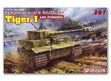 DRAGON 6406  1/35 Scale   Pz.Kpfw.IV Ausf.E Sd.Kfz181 Tiger I Late Production Plastic Model Building Kit