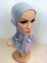DD4 wholesaleFashion Comfort muslim underscarf Wrap the chin hijabs underwear headband