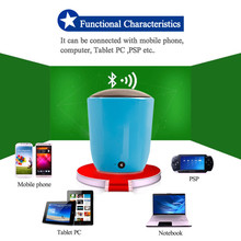N12 china supplier free shipping plastic my vision bluetooth speaker/round speaker bluetooth