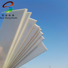 ABS0150 8.0mm Thickness 200mm x 250mm ABS Styrene Sheets White NEW