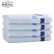 "New 2017 Brand Towel 4pc 34*75CM(13""*29"") bamboo hand towel adult towels bathroom toallas face Breathable 070012(China)"