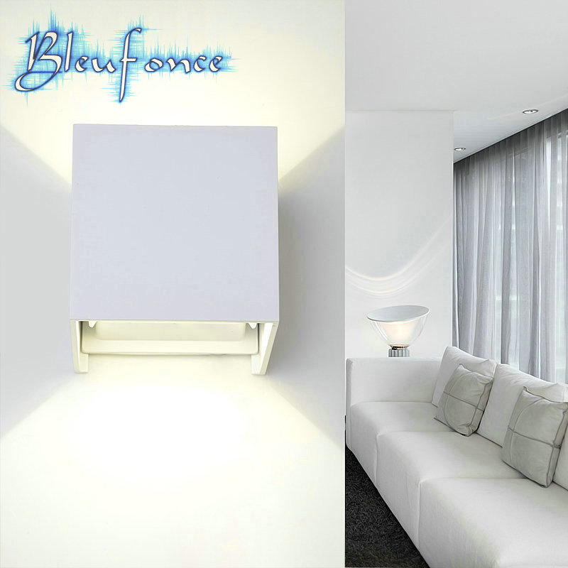 Modern Brief Garden Lights 7W Warm White LED Sconce Adjustable Surface Mounted Wall Lamp Outdoor Waterproof Aluminum Wall Lights<br><br>Aliexpress