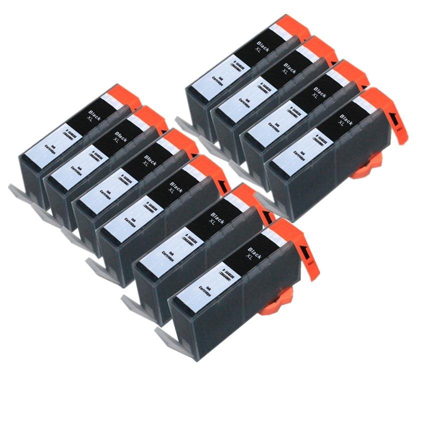 10 x Black for HP 178 XL hp178 ink cartridge For hp Photosmart C6380 C6300 C5300 C5383 C5380 C6383 D5460 D5400 D5463 5510 5511<br><br>Aliexpress