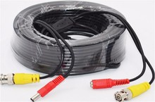 10M Bnc video power cable security camera wire cord for cctv dvr surveillance system