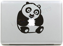 Panda Hold Logo Decal for apple macbook Sticker air 11 12 13 pro 13 15 17 retina Pegatinas Computer Wall Car Stickers Vinyl Skin