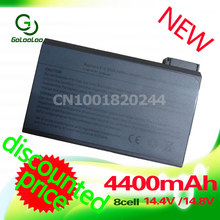 Golooloo 4400mAh Battery For Dell Inspiron 2500 3700 3800 4000 4100 4150 Latitude C500 C510 C540 C600 C610 C640 C800(China)