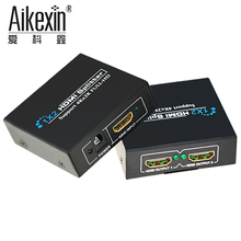 Aikexin 4K HDMI UHD Splitter 1 x 2 Support 4KX2K 3D 2160p 1080p One Input To Two Output HDMI Signal Distributor with power(China)
