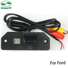 GreenYi CCD Car Rear View Reverse Backup Camera Ford Focus Sedan 3C For Ford Focus (3C) Mondeo (2000-2007) C-Max (2007-2009)(China)
