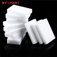 100pcs/lot Multifunctional Magic Nano Sponge Melamine Cleaning Sponge Eraser Compressed Nano Sponge for Kitchen Bathroom(China)
