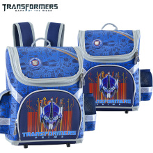 TRANSFORMERS cartoon children/kids portfolio orthopedic school bag shoulder backpack for boys grade 1-3
