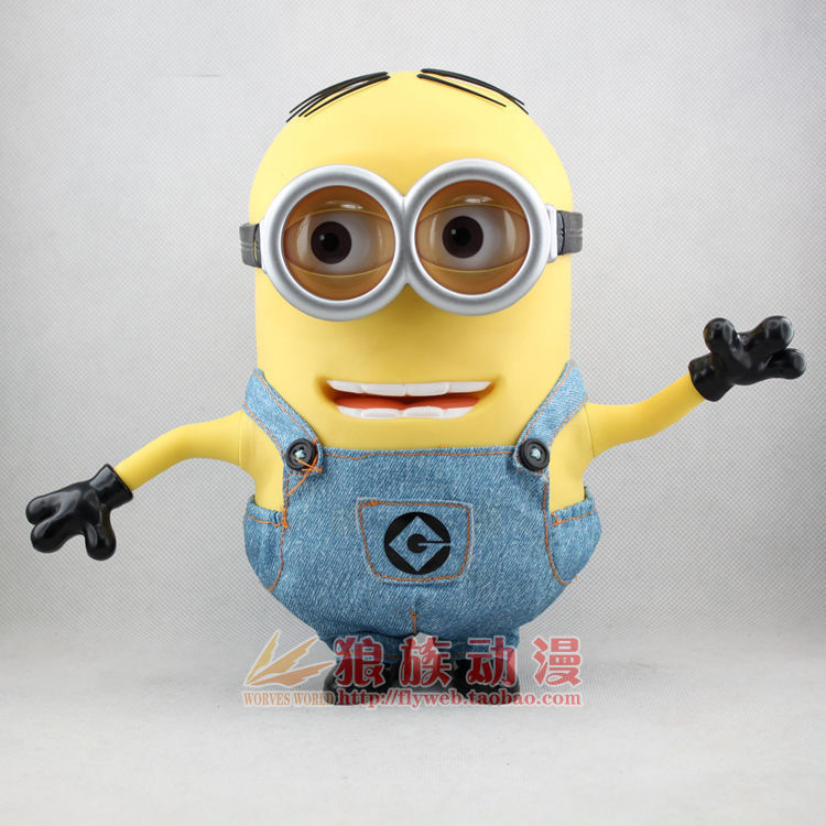 Despicable me 2 Minion Dave Singing 24 cm PVC Action Figure collection model toy<br><br>Aliexpress