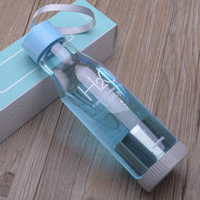 550ml school sports water bottle for camping h2o drink plastic bottles with filter drinkware my bottle