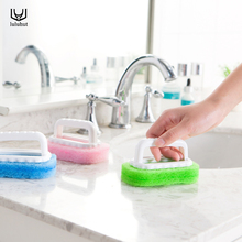 luluhut cleaning tools magic kitchen sponge brush bathroom window cleaning smoke machine cleaner dust remover kitchen tools(China)