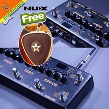 NUX Cerberus Multi Function Guitar Effects Pedal Processor Integrated Analog Overdrive Distortion Modulation and Delay Modules(China)