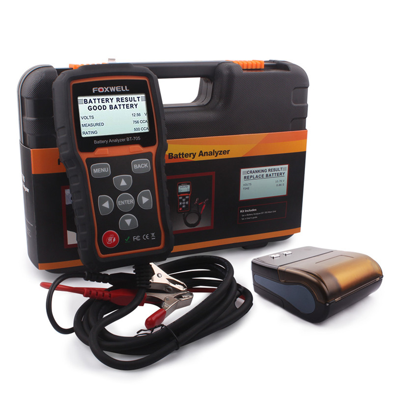 High-Quality-12-24V-Battery-Tester-FOXWELL-BT705-24-volt-Battery-Tester-Charging-System-Analyzer-with