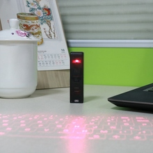 Universal Top Quality Bluetooth USB Virtual Laser Keyboard Portable Size Bluetooth Projection Keyboard For Smart Phone