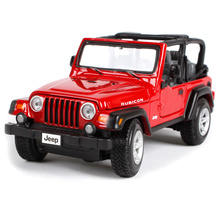 Maisto 1:27 Jeep Wrangler Rubicon Diecast Model Car Toy New In Box Free Shipping 31245