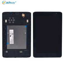 "Display 8"" 1280X800 For Lenovo Tab A5500 1280X800 Tablet Lcd Compact LCD Screen Mobile display with Frame For Lenovo A5500 LCD"