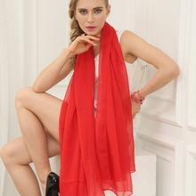 Fashion Summer Silk Scarf Solid color Shawl and Scaves Bufandas Mujer Cachecol Feminino Buautiful Foulard Women Wraps For Mother