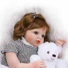 Real dolls reborn baby toys large size 70cm silicone baby dolls for children gift clothing shop model bebe girl reborn