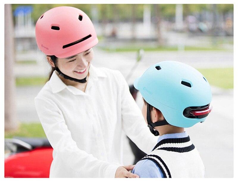 Xiaomi Smart4u Bicycle Smart Flash Half Helmets (2)