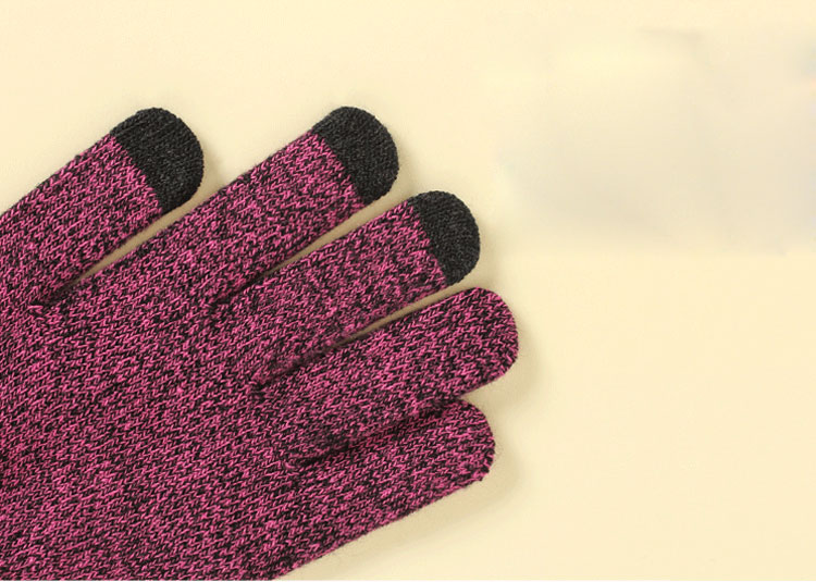 scarf gloves hat set women men winter scarf hat set winter hat scarf and glove set smart touch screen texting gloves set (7)