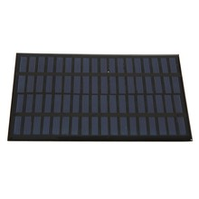 2.5W 18V Polycrystalline Stored Energy Power Solar Panel Module System Solar Cells High quality Charger 19.4x12x0.3cm